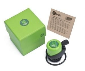 Wishbone Bell - Green Turtle Box