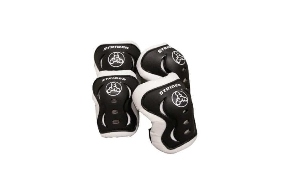 Kids New Strider Knee Elbow Pad Set Black Toddler Toy Gift Play Childs