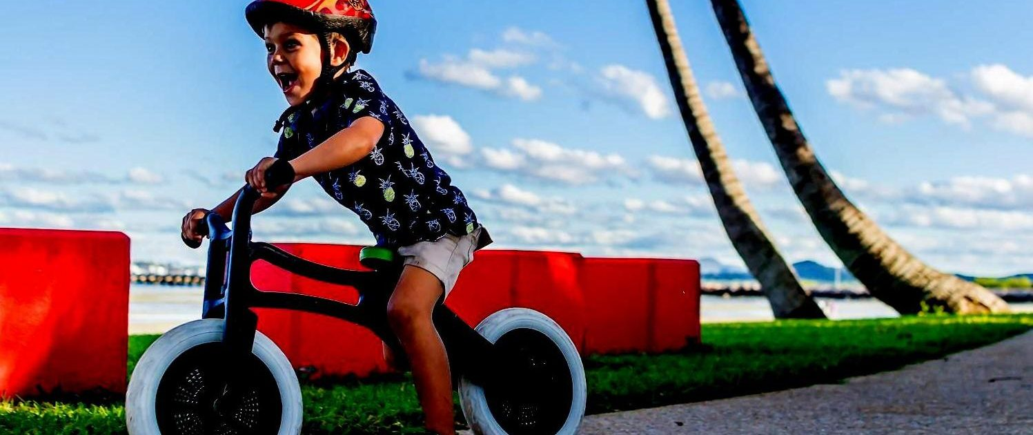 Wishbone Balance Bike Home Page Slider