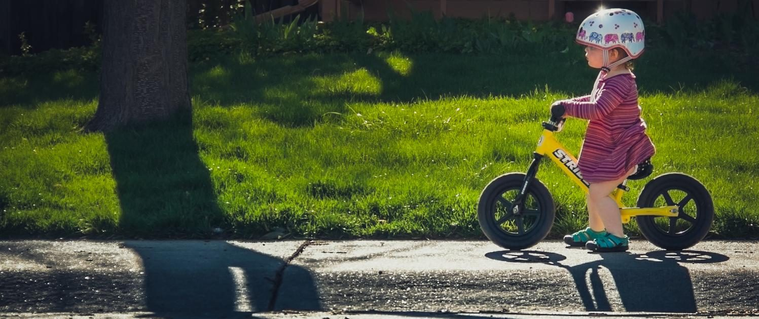 Strider Balance Bike Home Page Slider