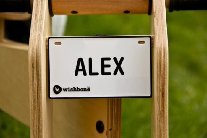 Wishbone Nameplate Alex