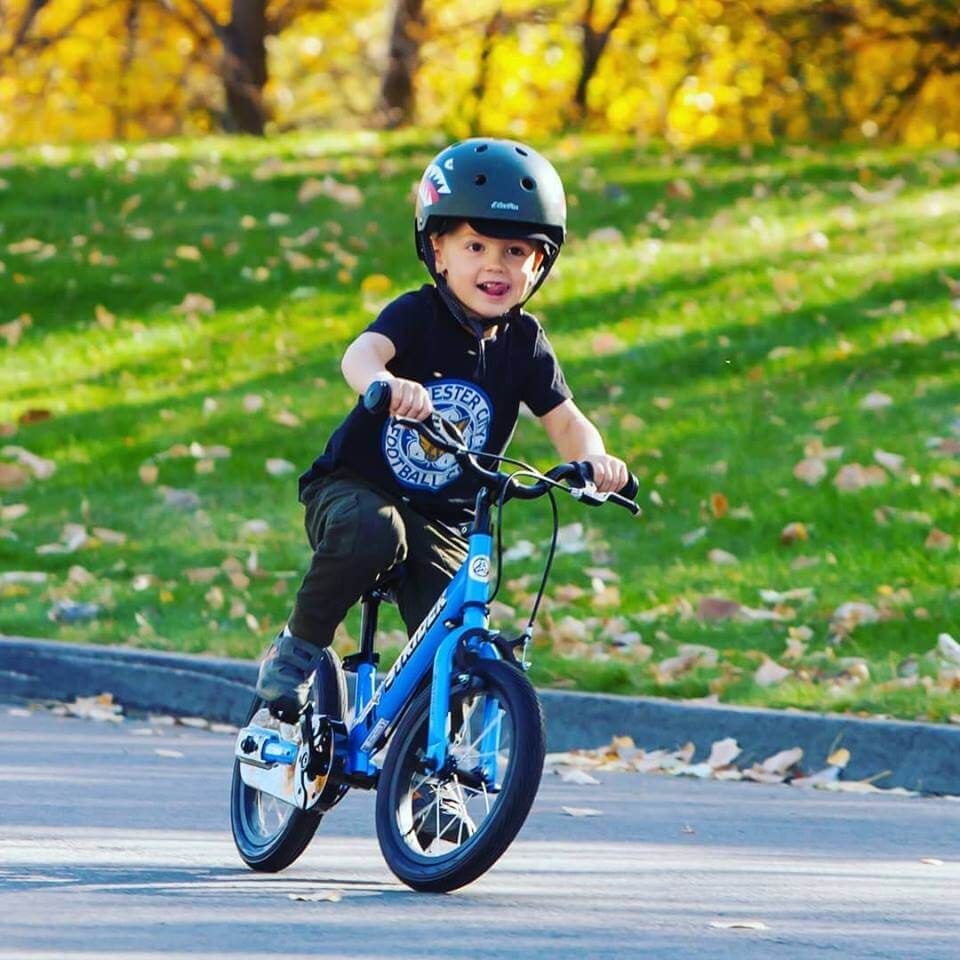 Strider 14X Sport Balance Bike with pedals