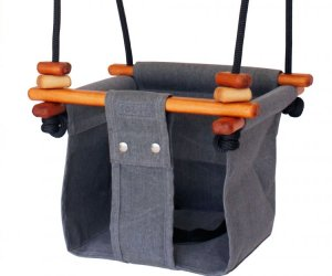 Solvej Baby Toddler Swing Smokey Grey