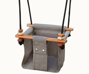 Solvej Baby Toddler Taupe Swing