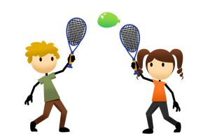 Toddler Balloon Tennis
