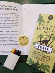 Dinosaur Trail Brass Rubbing Pack