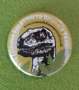 Dinosaur Trail Trail Badge