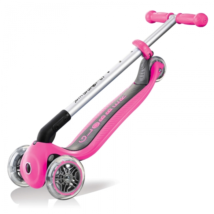 Globber Primo Foldable Scooter Deep Pink Trolley