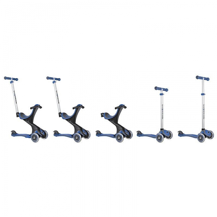 Globber Evo Comfort Scooter Stages
