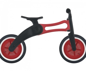 Wishbone 3in1 RE2 Balance Bike Red
