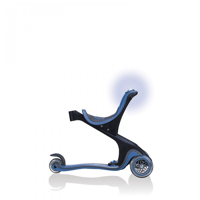 Globber Evo Comfort Play Navy Blue Side View