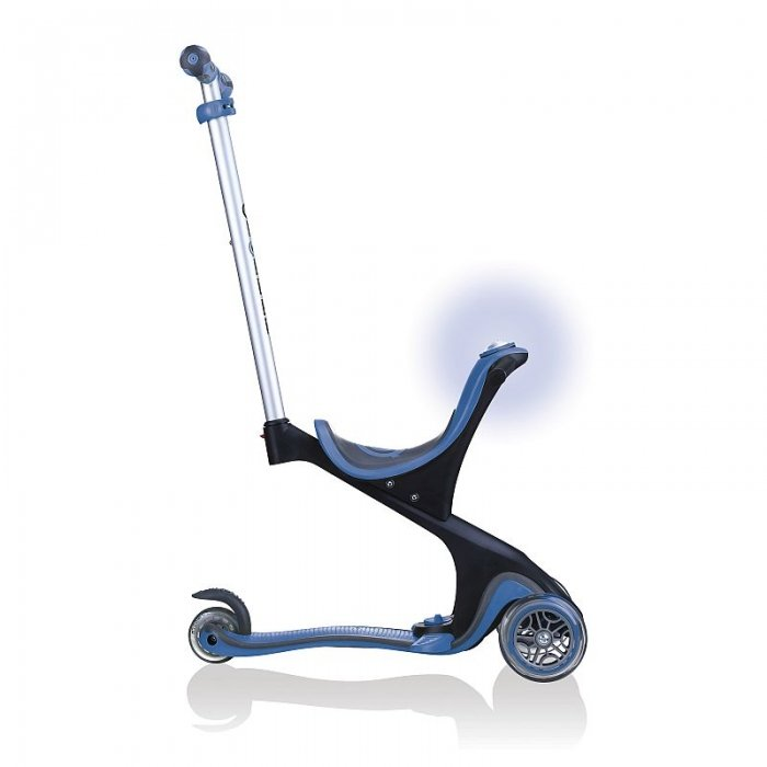 Globber Evo Comfort Play Navy Blue Side View Pushchair