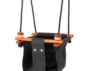 Solvej Baby & Toddler Swing Slate Grey