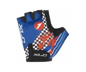 XLC Half Finger Cycling Gloves Blue