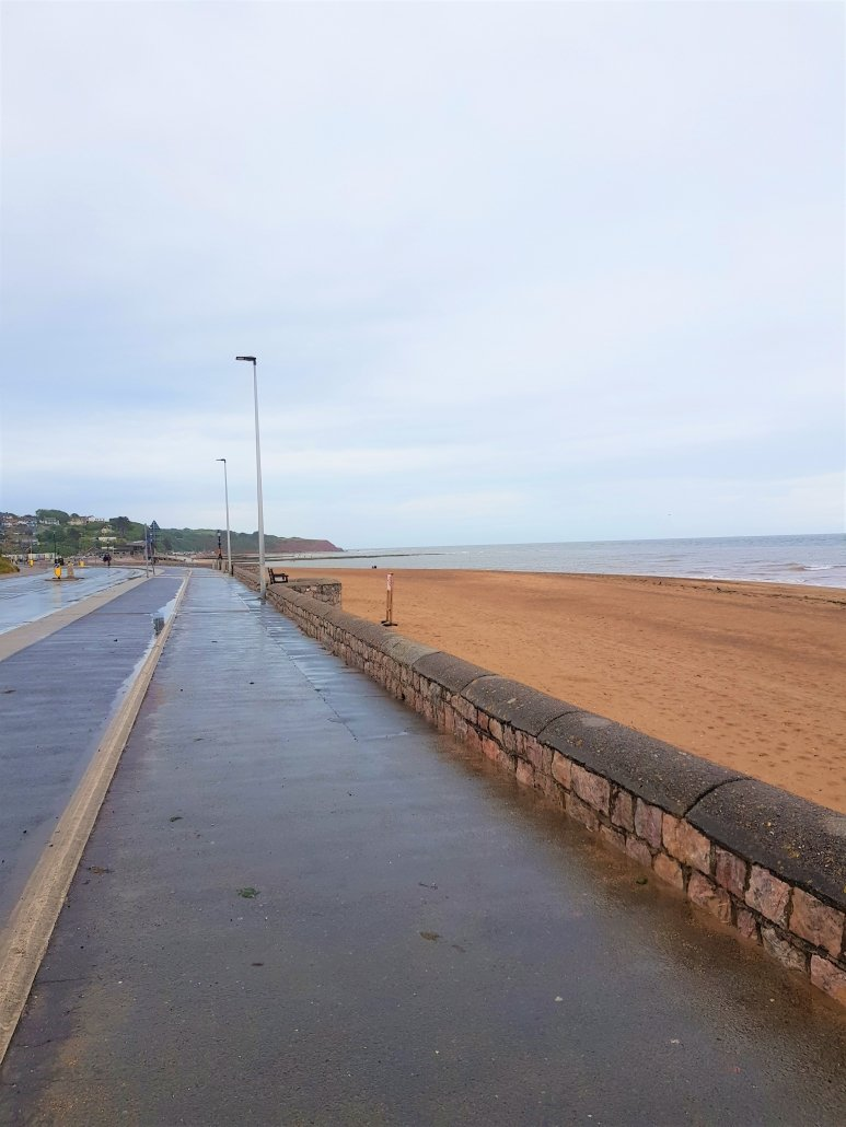 Exmouth Esplanade Cycle Lane