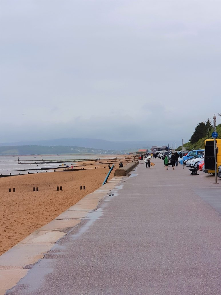 Exmouth Esplanade near Orcombe Point