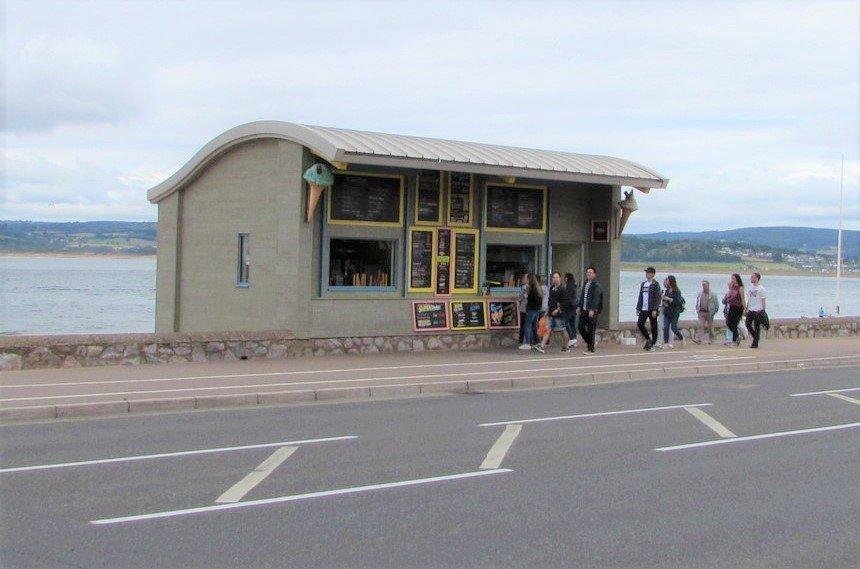 Ice Cream Kiosk Exmouth Esplanade