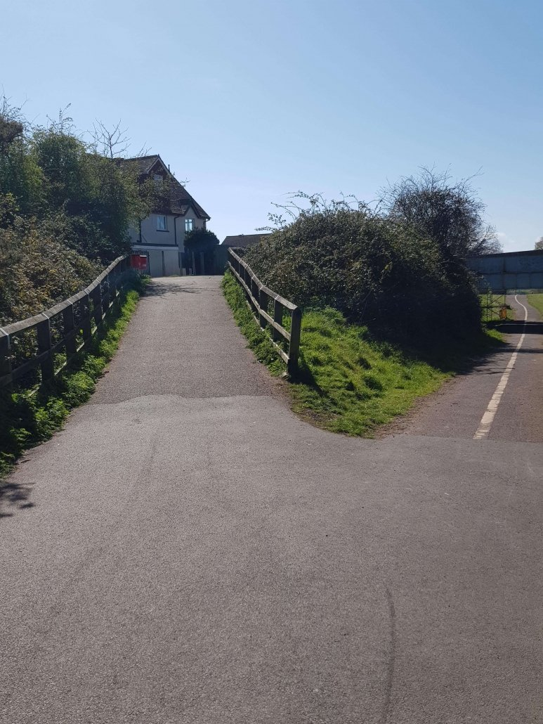 Exmouth to Budleigh Cycle Way Entry