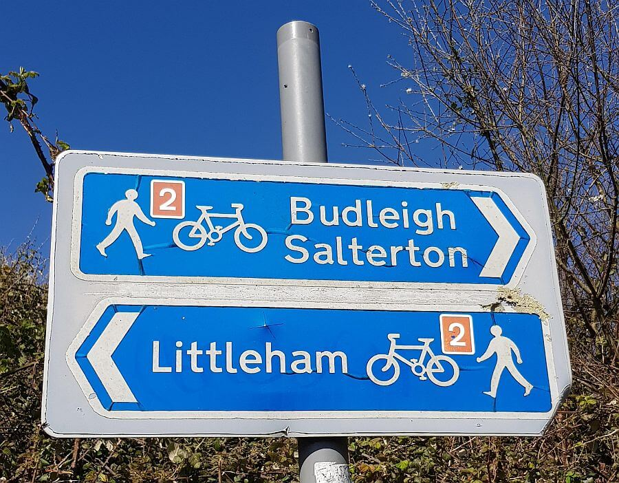 Exmouth to Budleigh Cycle Way Ride