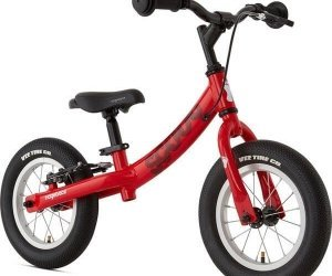 Ridgeback Scoot Balance Bike Red Angle