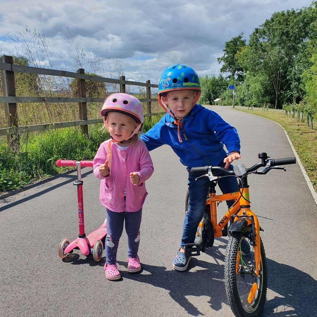 Little Wheels Lockdown Riders Alfie & Connie Wills