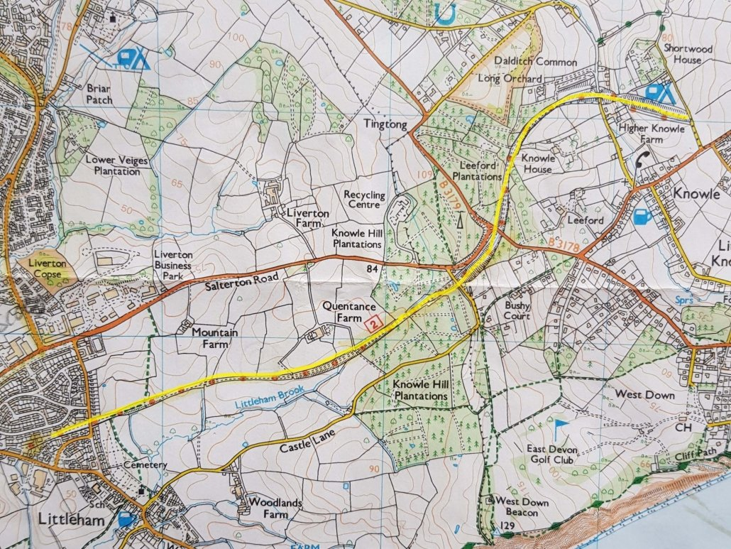Littleham to Budleigh Cycle Way
