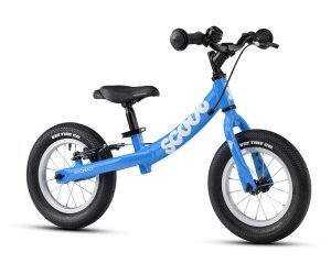 Ridgeback Scoot 2021 Balance Bike Blue Angle