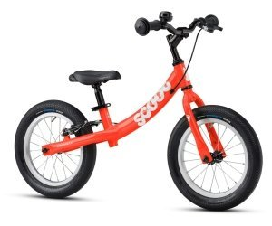 Ridgeback Scoot XL 2021 Balance Bike Red Angle