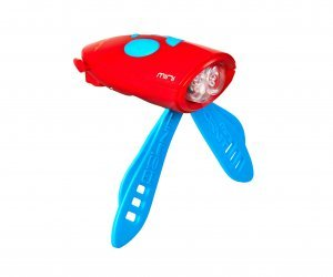 Hornit Mini Light & Horn Accessory Blue Red