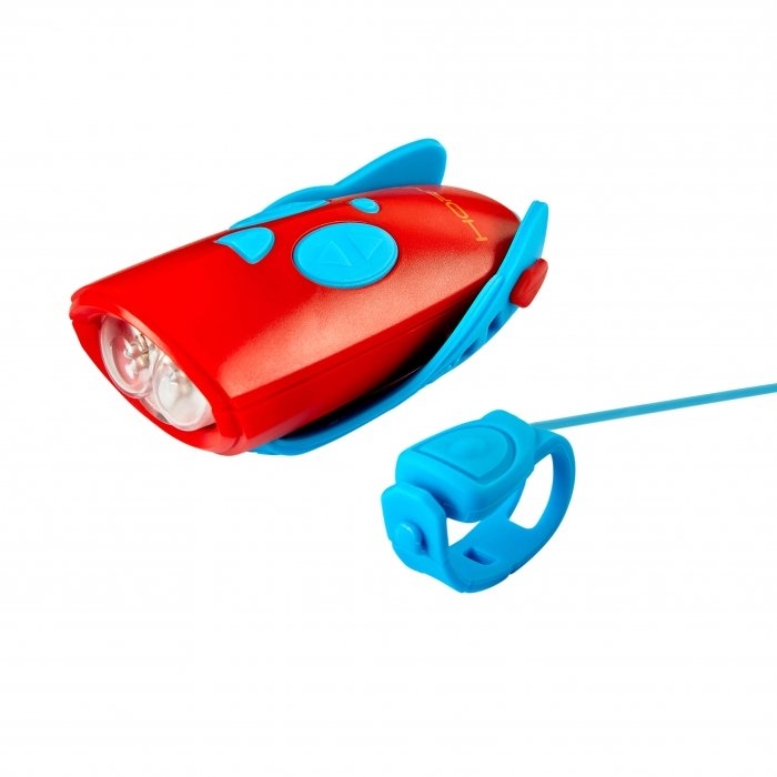 Hornit Mini Light & Horn Accessory Blue Red with Trigger