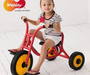 Weplay Large Trike Girl